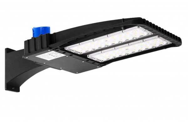 9. AntLux 150W LED Parking Lot Lights - LED Shoebox Pole Light