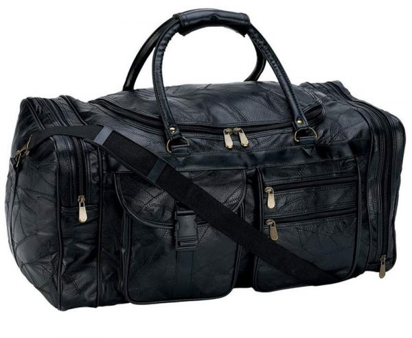 9. B&F Embassy 25 in. Leather Cowhide Duffle Bg [Kitchen] LULCW25 Bag