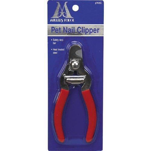 9. Millers Forge Stainless Steel Dog Nail Clipper, Plier Style