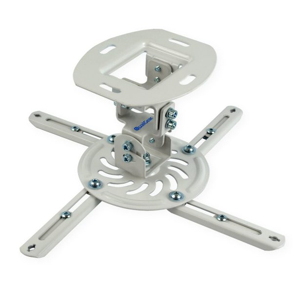 9. QualGear QG-PM-002-WHT-S Projector Ceiling Mount Accessory