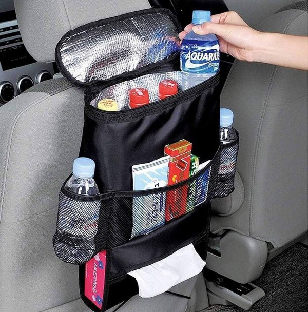 1. AUTOARK Standard Car Seat Back Organizer,Multi-Pocket Travel Storage Bag