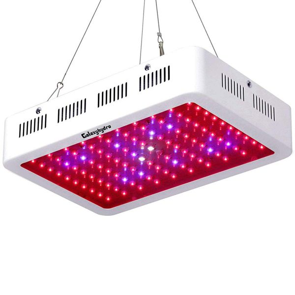 1. Roleadro LED Grow Light, Galaxyhydro Series 1000W Indoor Plant Grow Lights Full Spectrum with UV&IR for Veg and Flower-1000w