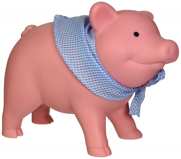 1. Schylling Rubber Piggy Bank