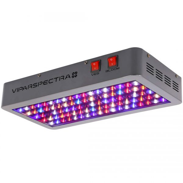 10. VIPARSPECTRA Reflector-Series 450W LED Grow Light Full Spectrum for Indoor Plants Veg and Flower, Has Daisy Chain Function