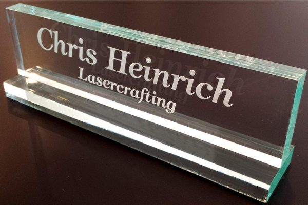 3. Office Desk Name Plate