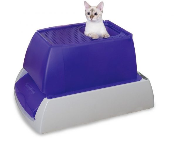3. PetSafe ScoopFree Ultra Self-Cleaning Cat Litter Box, Covered, Automatic with Disposable Tray, 2 Color Options