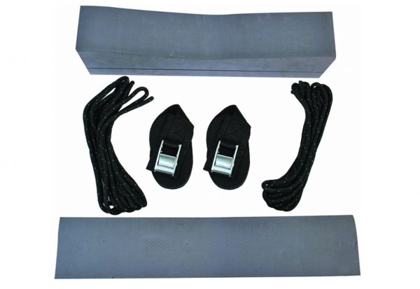 4. attwood 11438-7 Universal Rack-Free Car-Top Kayak Carrier Kit with Supporting Foam Blocks