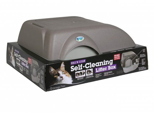 5. Omega Paw Self-Cleaning Litter Box, Large