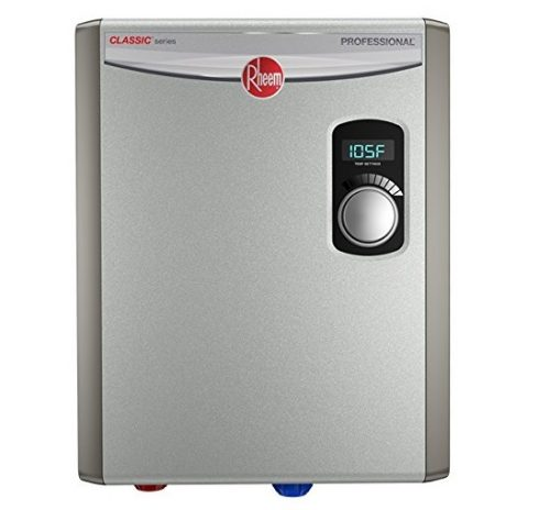 5. Rheem RTEX-18 240V 2 Heating Chambers Residential Tankless Water Heater