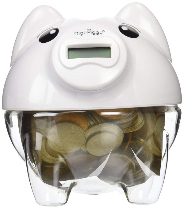 5. The Digi-Piggy Digital Coin Counting Bank