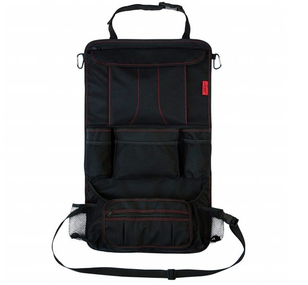 7. Car Back Seat Organizer with Larger Protection & Storage