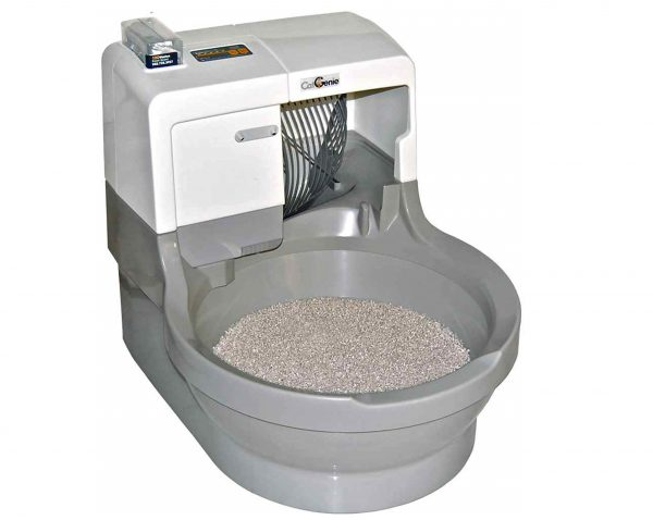 7. CatGenie Self Washing Self Flushing Cat Box