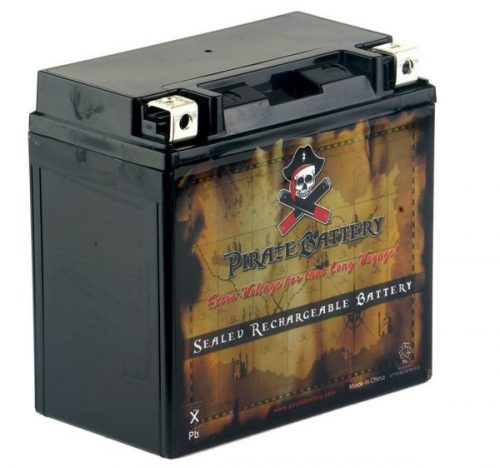 7. YTX14-BS High Performance - Rechargeable - Maintenance Free - Sealed AGM Motorcycle Battery