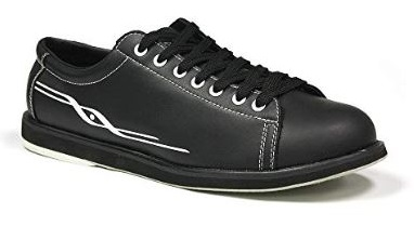 9. Pyramid Men's Ram Black Bowling Shoes