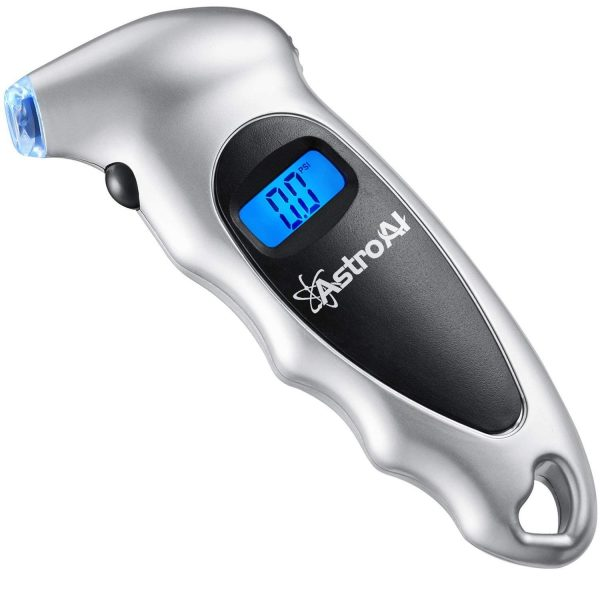 1. AstroAI Digital Tire Pressure Gauge 150 PSI 4 Settings for Car Truck Bicycle with Backlit