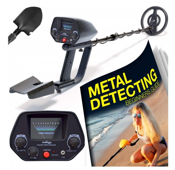 2. Ultimate Metal Detector For Adults - Waterproof Pro Detectors With Pinpointer For Kids