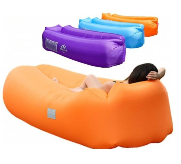 2. WEKAPO Inflatable Lounger Air Sofa Hammock-Portable,Water Proof& Anti