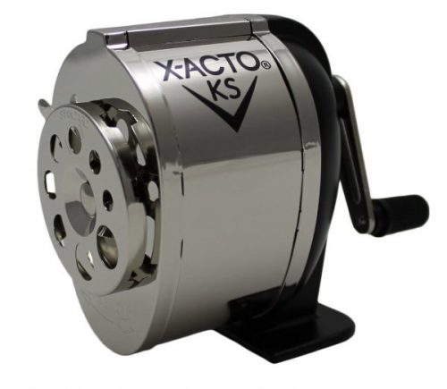 2. X-ACTO Ranger 1031 Wall Mount Manual Pencil Sharpener
