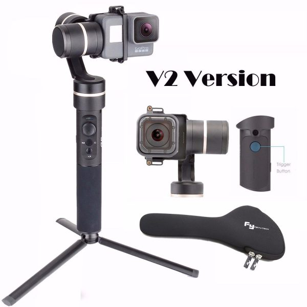 3. eiyu FeiyuTech G5 V2 Updated 3 Axis Splash Proof Handheld Gimbal for GoPro Hero