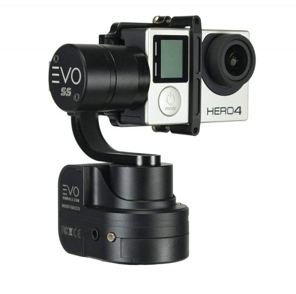 4. EVO Gimbals EVO SS 3 Axis Wearable Gimbal for GoPro Hero3, Hero4 or Hero5 Black, Session, Garmin Virb Ultra