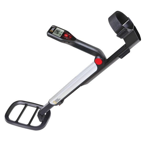 5. NATIONAL GEOGRAPHIC PRO Series Metal Detector - Ultimate Treasure Hunter with Pinpointer