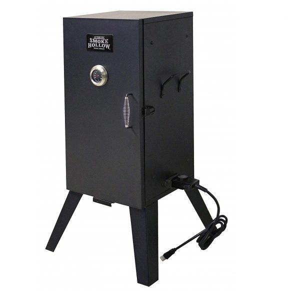 5. Smoke Hollow 26142E 26-Inch Electric Smoker with Adjustable Temperature Control
