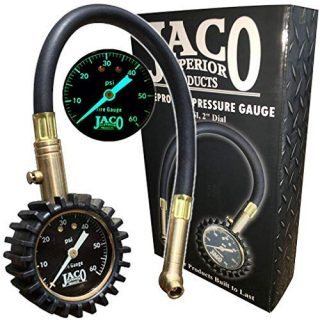 8. JACO ElitePro Tire Pressure Gauge - 60 PSI