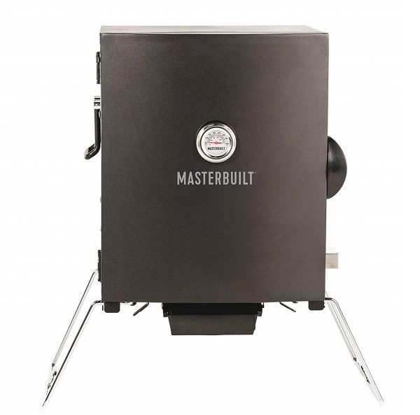 8. Masterbuilt MB20073716 Patio-2-Portable Electric Smoker, Black