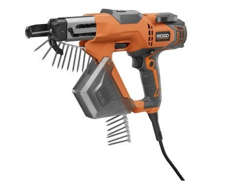 1. Ridgid R6791 3 In Drywall and Deck Collated Screwdriver (Certified Refurbished)