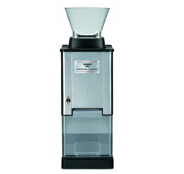 1. Waring Pro IC70 Professional Stainless Steel Large-Capacity Ice Crusher