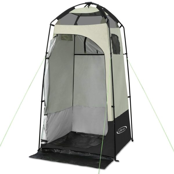 11. G4Free Outdoor Privacy Shelter Tent Dressing Changing Room Deluxe Shower Toilet Camping Tents