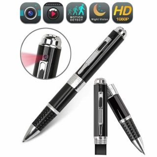 12. Amomb Spy Pen Hidden Camera, HD 1080P Hidden Camera Pen Portable Multifuntional Writing Pen Mini Camera