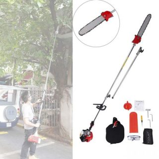 12. BEAMNOVA Pole Saws for Tree Trimming Chainsaw Hedge Trimmer Multifunctional 43CC Gas Powered Brush Cutter