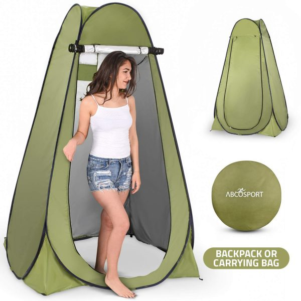 2. Pop Up Privacy Tent – Instant Portable Outdoor Shower Tent, Camp Toilet & Changing Room