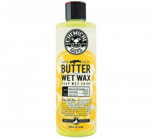 3. Chemical Guys WAC_201_16 Butter Wet Wax (16 oz)