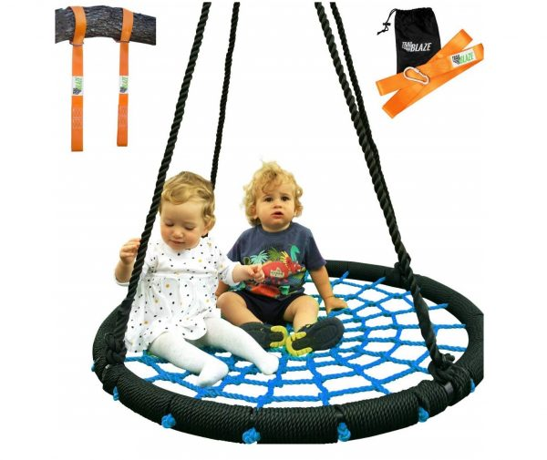 3. Trailblaze Giant Web Tree Swing + Hanging Straps Kit