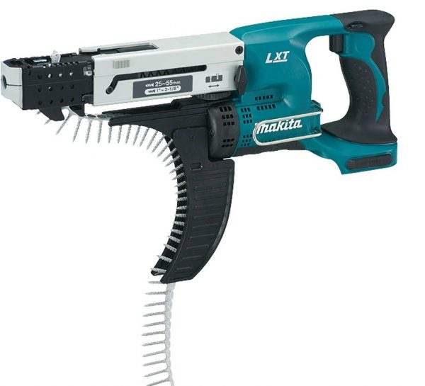 6. Makita XRF02Z 18V LXT Lithium-Ion Cordless Autofeed Screwdriver Kit