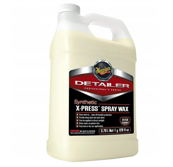 6. Meguiar's D15601 Synthetic X-Press Spray Wax - 1 Gallon
