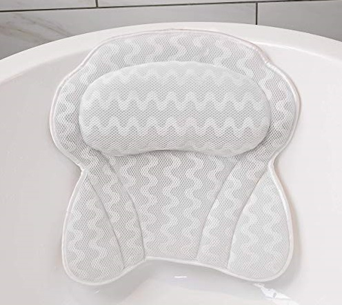 7. Bath Pillow By Soothing Company, Bathtub Cushion for Neck, Head & Shoulders