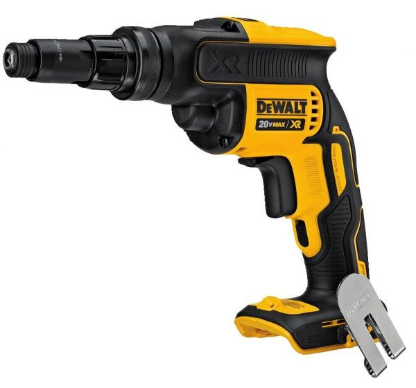 9. DEWALT DCF622B 20V MAX XR Versa-ClutchTM Adjustable Torque Screwgun (Tool Only)