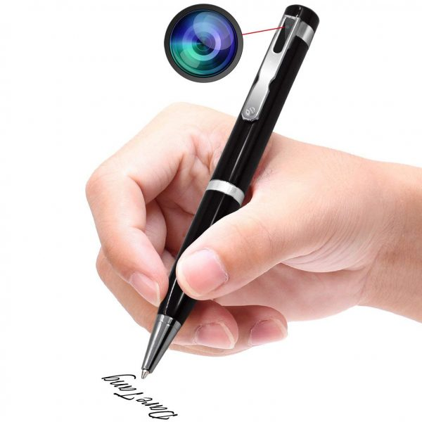 9. Daretang Hidden Camera 1080P HD Spy Camera Pen, Video Recording Wireless Security Camera