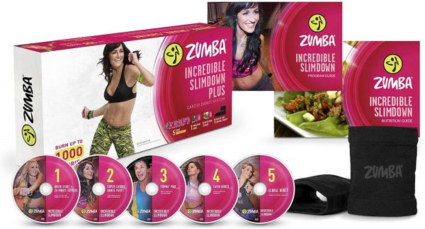 11. Zumba Incredible Slimdown Weight Loss Dance Workout DVD System
