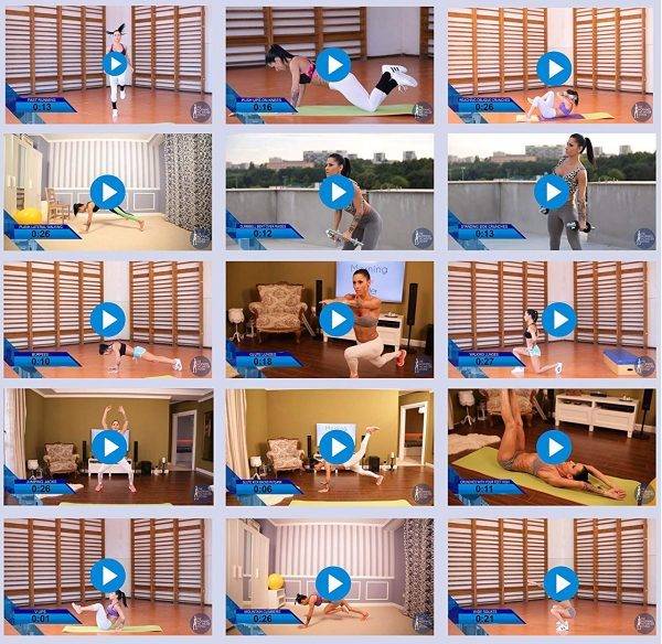 14. Best Workout Videos for Women - Morning Fat Melter Bundle - 18 Exercise Videos and 9 Nutritional Videos on 1 DVD