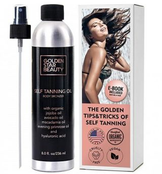 2. Self Tanner - Sunless Tanning Oil, Organic Spray Tan