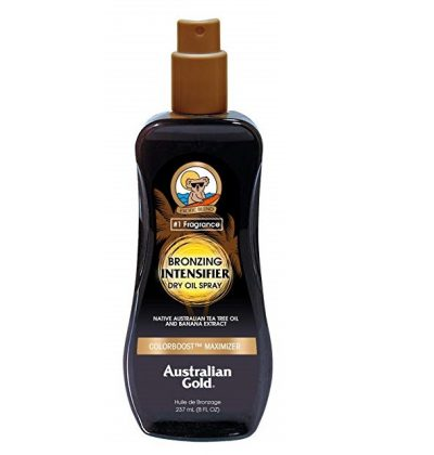 3. Australian Gold Bronzing Dry Oil Spray Intensifier, 8 Fl Oz