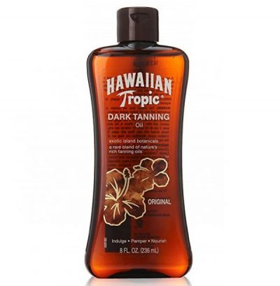 4. Hawaiian Tropic Dark Tanning Oil Original 8 oz