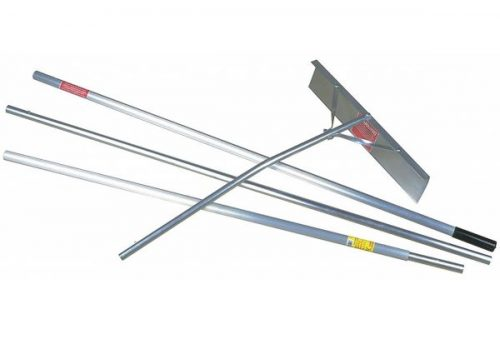11. Snow Roof Rake Scraper, 24 in, 16 ft.
