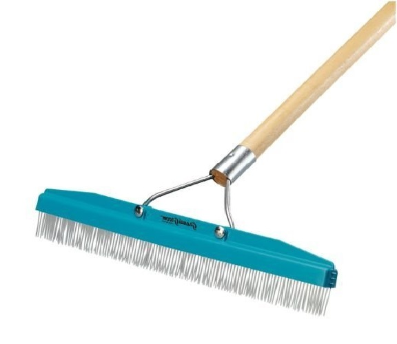 11.Commercial-Groomer-Carpet-Rake-18-Wide-with-54-Long-Handle