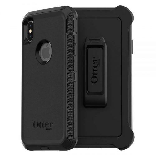 12. OtterBox DEFENDER SERIES SCREENLESS EDITION Case for iPhone Xs Max - Retail Packaging - BLACK