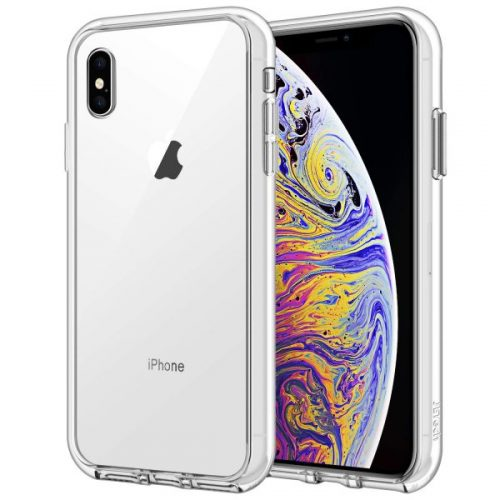2. JETech Case for iPhone Xs Max 6.5-Inch, Shock-Absorption Bumper Cover (HD Clear)
